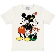 Disney Mikki & Minni Lasten T-Paita Valkoinen