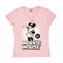 Disney Minni Hiiri Vuodesta 1928 Naisten T-Paita Vaaleanpunainen