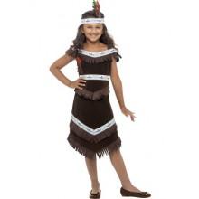 IntiaanityttÖ Lasten Naamiaisasu