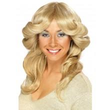 70-luvun Peruukki Blondi