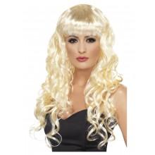 Peruk Siren Sjöjungfru Blond