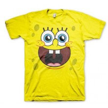 Sponge Happy Face T-Paita
