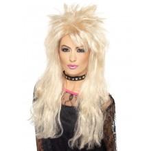 80-luvun Peruukki Pitkä Blondi