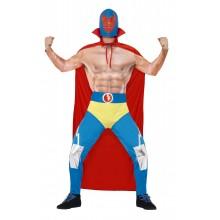 Meksikolainen Wrestler Naamiaisasu