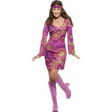 Woodstock Hippi Naamiaisasu