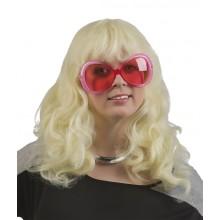 Blondi Pitkä Laineileva Peruukki