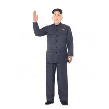 Pohjois-korealainen Diktaattori Naamiaisasu