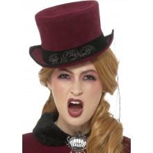 Hattu Viktoriaaninen Vampyyri Deluxe