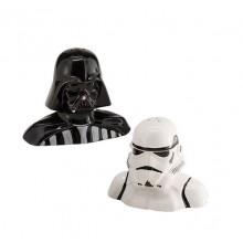 Star Wars Suola ja Pippuri Purkit Darth Vader ja Stormtrooper