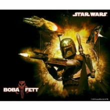 Star Wars - Boba Fett HIIRIMATTO