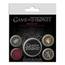 Game Of Thrones -Merkit 5 Kpl