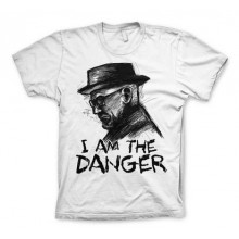 Breaking Bad I Am The Danger T-Paita