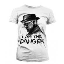 Breaking Bad I Am The Danger Naisten T-Paita