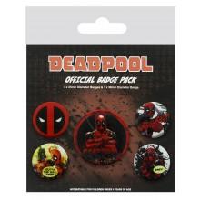 Deadpool Merkit 5-Pakkaus