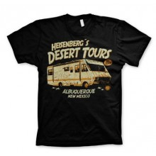 Breaking Bad Desert Tours T-Paita