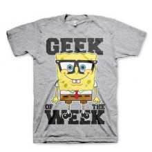 Spongebob Geek Of The Week T-Paita