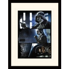 Star Wars Rogue Juliste Darth Vader Kehystetty