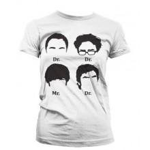 Big Bang Theory Prefix Heads Naisten T-Paita