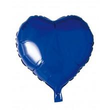 Folioilmapallo Sydän Sininen