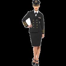 Naisten Laivastoupseeri Naamiaisasu