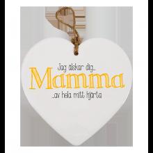 """Sydän """"Mamma Jag Älskar Dig"""""""