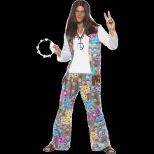 Groovy Hippi Naamiaispuku