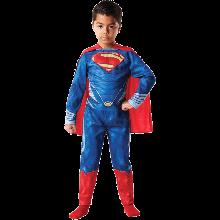 SUPERMAN TASAINEN RINTA LASTEN ASU