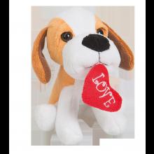 Pehmolelu Koira Love