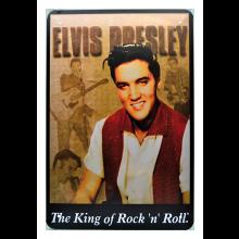 Rockabilly Metallitaulu Elvis