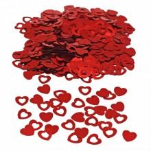 Konfetti Punaiset Sydämet