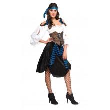 Merirosvo Naamiaisasu Rum Runner Lady
