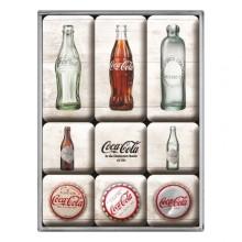 Magneettisetti Coca-Cola Retro