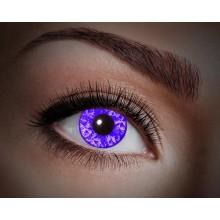 Värilliset linssit UV Violet Diamond