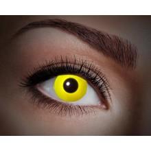 Värilliset linssit UV Flash Yellow