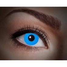 Värilliset linssit UV Flash Blue