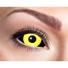 Sclera-linssit Black And Yellow
