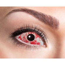 Sclera-linssit Red Lava