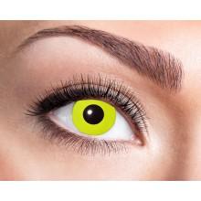 Värilliset linssit Yellow Crow Eyes