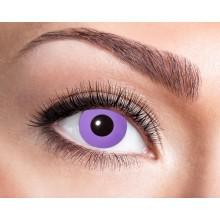 Värilliset linssit Purple Gothic