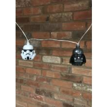 Star Wars 3D Valoketju Stormtrooper & Darth Vader