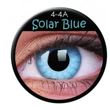 Värilliset linssit crazy solar sininen
