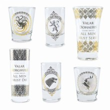 Game Of Thrones -shottilasit Premium 6-pakkaus