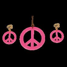 Korusetti Vaaleanpunainen Rauhanmerkki