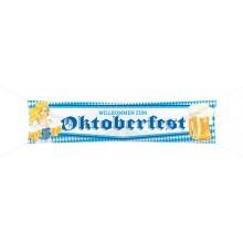 Banderolli Willkommen Zum Oktoberfest 180x40 cm