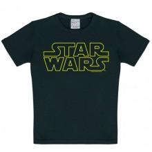 Star Wars Logo Lasten T-Paita Musta