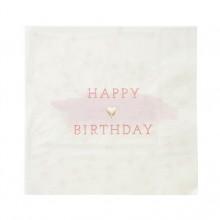 Servetit Happy Birthday 16-pakkaus