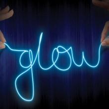 Neonljusslinga att Forma Själv