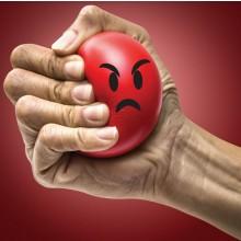 Vihainen Emoji Stressipallo