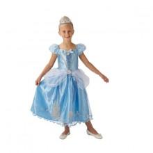 Askungens klänning Barnmaskeraddräkt