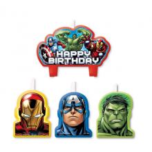 KynttilÄT Avengers 4-Pakkaus